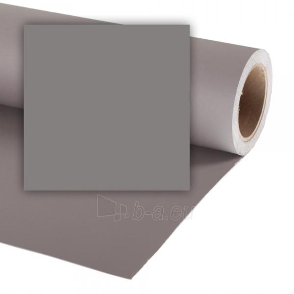 Popierinis fonas Colorama 1,35x11m Smoke Grey Paveikslėlis 1 iš 1 30025601064