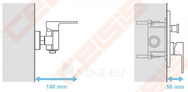 Potinkinė dėžutė RAVAK R-box RB 070.50 Paveikslėlis 3 iš 4 270790200217