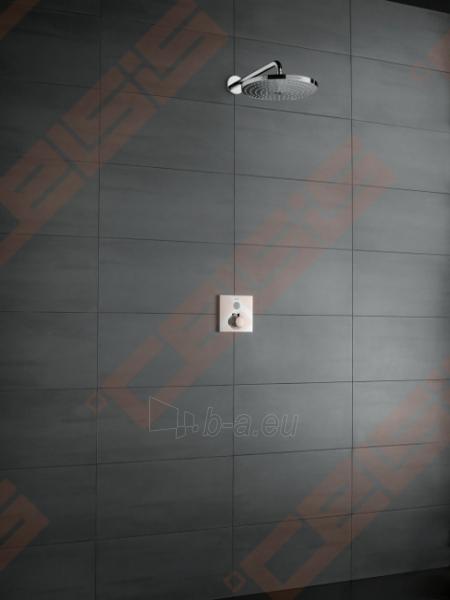 Potinkinė dušo galva HANSGROHE Raindance Select S240 2jet su vamzdeliu 100 mm Paveikslėlis 4 iš 6 270790200227