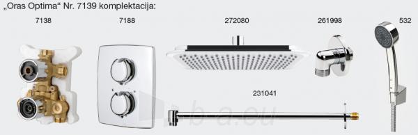 Potinkinė termostatinė dušo sistema Optima (7138; 7188; 272080; 231041; 261998; 532) Paveikslėlis 2 iš 4 310820163884