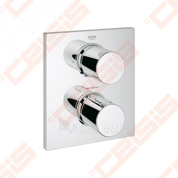 Potinkinio termostatinio vonios/dušo maišytuvo dekoratyvinė dalis GROHE Grohtherm F Paveikslėlis 1 iš 2 270790200246