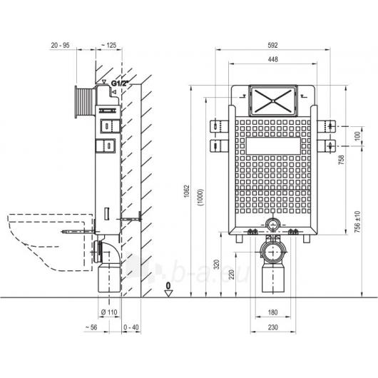Potinkinis instaliacinis modulis W Paveikslėlis 2 iš 2 270790200266