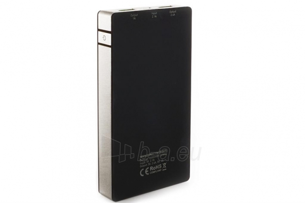 PowerNeed Sunen Nešiojamas įkroviklis 10000mAh, 2x USB; tablet, smartfon; juoda Paveikslėlis 5 iš 8 310820044141