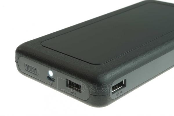 PowerNeed Sunen Nešiojamas įkroviklis 20000mAh, 2x USB; tablet, smartfon; juoda Paveikslėlis 4 iš 7 310820014309