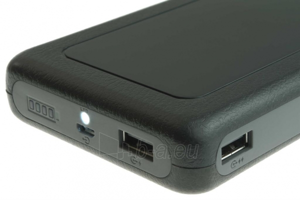PowerNeed Sunen Nešiojamas įkroviklis 20000mAh, 2x USB; tablet, smartfon; juoda Paveikslėlis 5 iš 7 310820014309