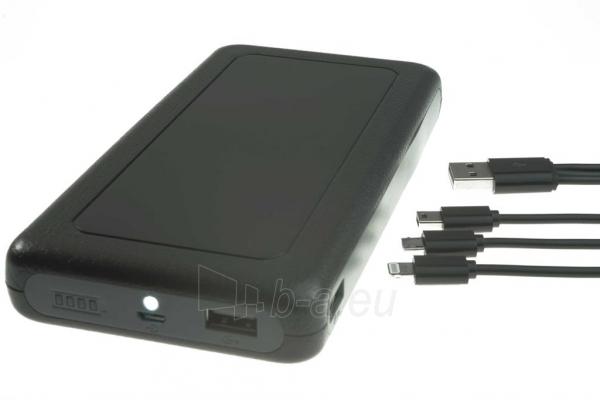 PowerNeed Sunen Nešiojamas įkroviklis 20000mAh, 2x USB; tablet, smartfon; juoda Paveikslėlis 6 iš 7 310820014309
