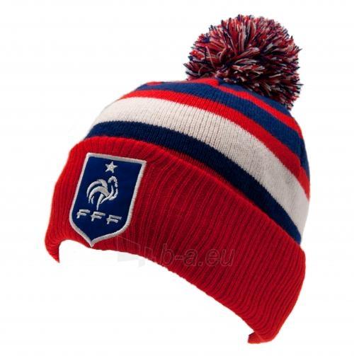 Prancūzijos futbolo rinktinės žieminė kepurė su bumbulu Paveikslėlis 1 iš 4 251009001610