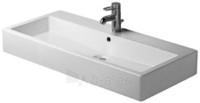 Washbasin 100 cm Vero white with,overflow 1hole Paveikslėlis 1 iš 1 270711000999