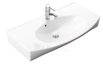 Praustuvas Caprice 87x47,5 cm, tvirt. varžtais, baltas Paveikslėlis 1 iš 2 310820163845