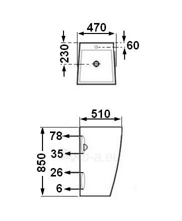 Praustuvas GRG-002 Paveikslėlis 2 iš 3 270711000553
