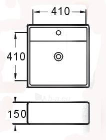 Praustuvas GRG-104B Paveikslėlis 2 iš 2 270711000558
