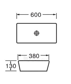 Praustuvas GRG-4942 Paveikslėlis 2 iš 2 270711000580