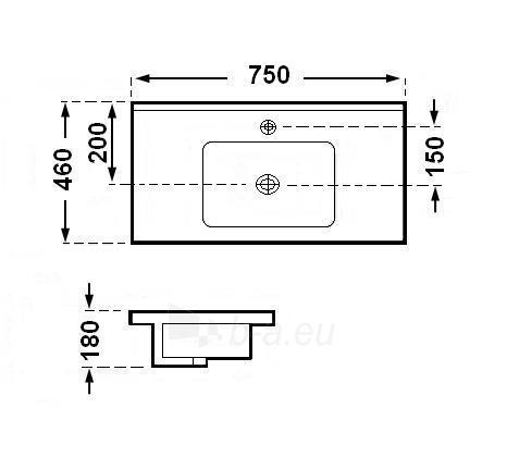 Praustuvas GRG-7010-75 Paveikslėlis 2 iš 2 270711000590