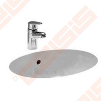 Praustuvas LAUFEN Birova 49x35,5 cm, įmontuojamas iš apačios Paveikslėlis 1 iš 2 270711001251