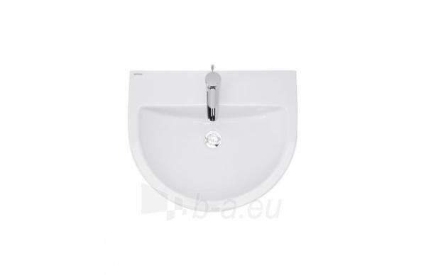 Praustuvas Urby 600x500x193 mm, su 1 skyle maišyt, mont. rink., baltas Paveikslėlis 1 iš 3 310820183086