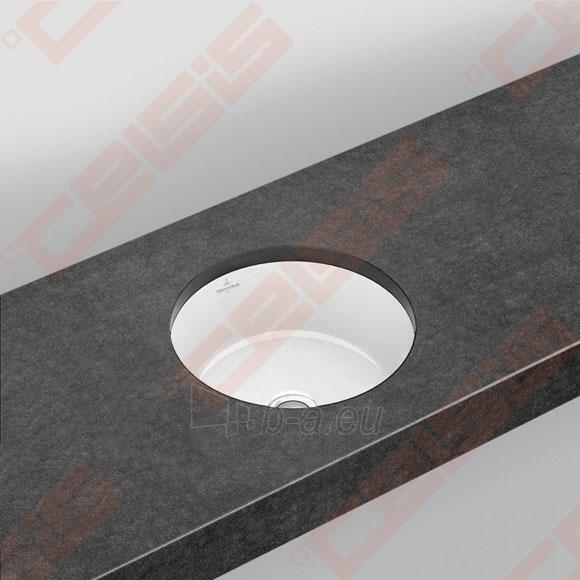 Praustuvas VILLEROY&BOCH Architectura 340x340 mm, montuojamas iš apačios Paveikslėlis 1 iš 2 270711001306