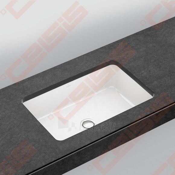 Praustuvas VILLEROY&BOCH Architectura 540x340 mm, montuojamas iš apačios Paveikslėlis 1 iš 2 270711001307