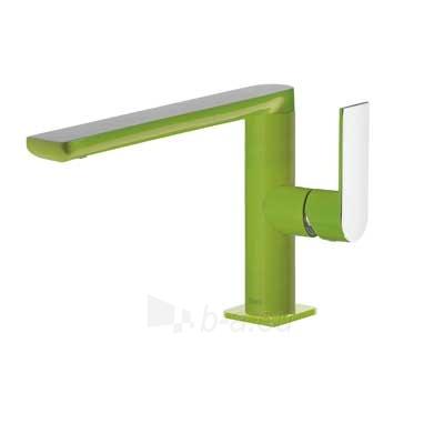 Praustuvo maišytuvas LOFT Colors paaukštintas H-170, tiesiu snapu , žalia/chromas Paveikslėlis 1 iš 2 310820163727