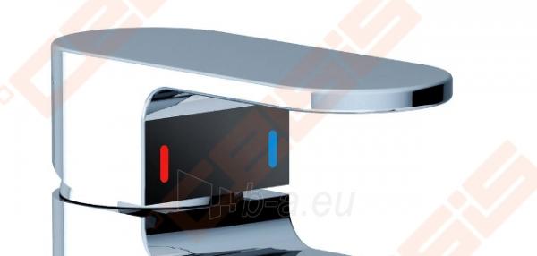 Praustuvo maišytuvas RAVAK Chrome CR 011.00 su dugno vožtuvu Paveikslėlis 3 iš 5 270722000809