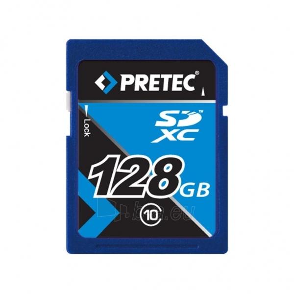 Pretec 128 GB SDXC class 10 Secure Digital eXtended Capacity Paveikslėlis 1 iš 2 250255123262