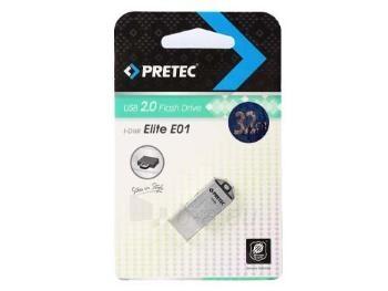 Pretec i-Disk Elite USB 2.0 - 16 GB Silver Paveikslėlis 3 iš 3 250255122814