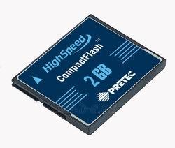 Pretec karta pamieci 40x CompactFlash 2GB Paveikslėlis 1 iš 2 250255123586