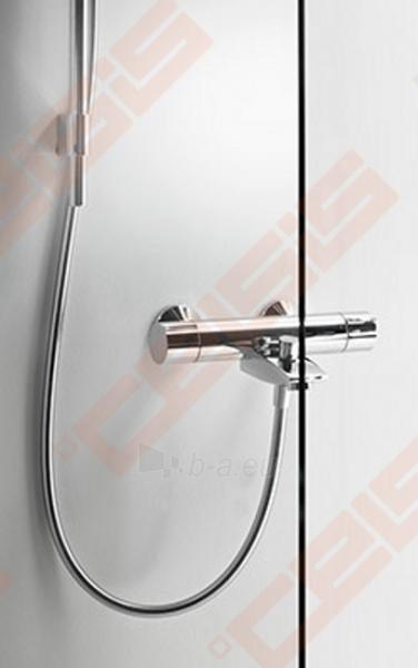 Priekinė pažeminta stiklo dalis dušo bokso IDO Showerama 8-5 90x90, skaidri Paveikslėlis 1 iš 6 270730001031