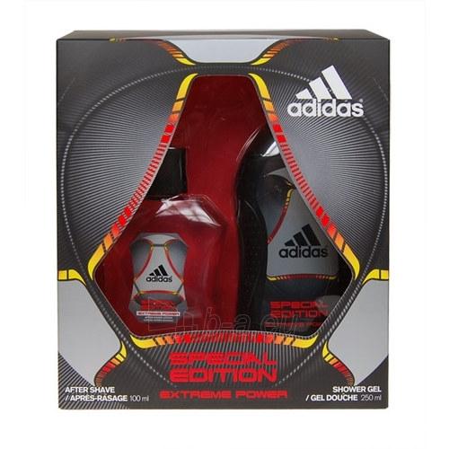 Priemonė po skutimosi Adidas Extreme Power Aftershave 100ml (Rinkinys) Paveikslėlis 1 iš 1 250881300600