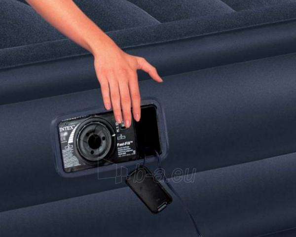 Pripučiama lova INTEX 66718 Rising Comfort, 152 x 203 x 56 cm Paveikslėlis 2 iš 4 310820037143
