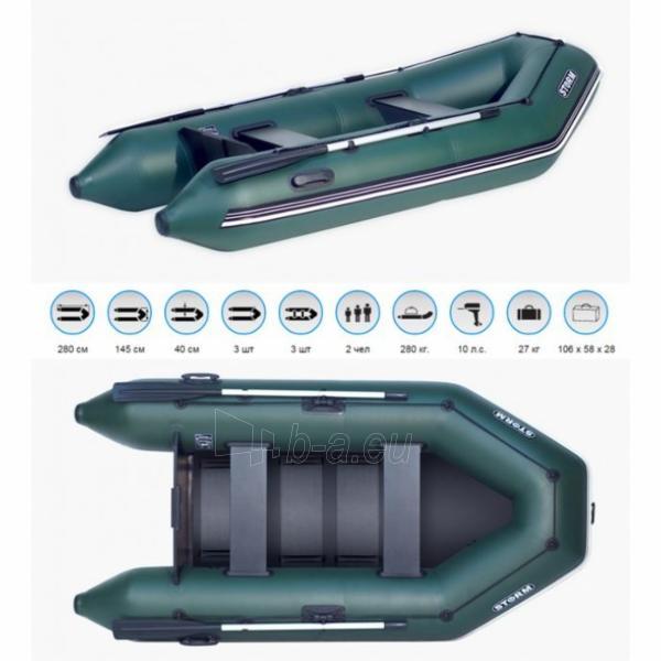 Pripučiama valtis AQUA STORM Stm 280-40 Paveikslėlis 1 iš 1 250553300172