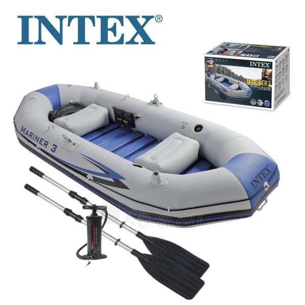 Pripučiama valtis INTEX MARINER 3, 297 x 127 x 46 cm Paveikslėlis 3 iš 3 310820011630