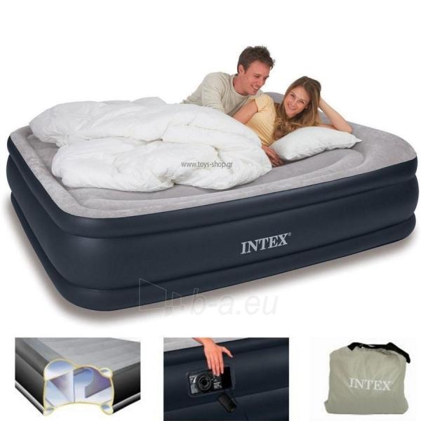 Pripučiamas čiužinys - lova INTEX 67738, 208 x 163 x 48 cm Paveikslėlis 1 iš 1 310820004594