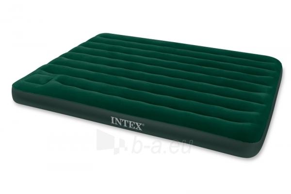 Pripučiamas čiužinys miegui INTEX 152x203x22 cm Paveikslėlis 1 iš 2 310820004583