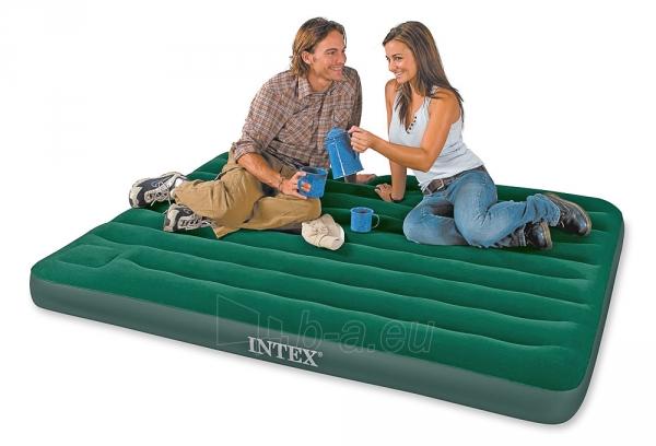 Pripučiamas čiužinys miegui INTEX 152x203x22 cm Paveikslėlis 2 iš 2 310820004583