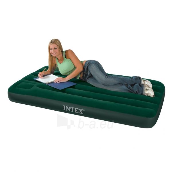 Pripučiamas čiužinys miegui INTEX 99x191x22 cm Paveikslėlis 2 iš 2 250630900157