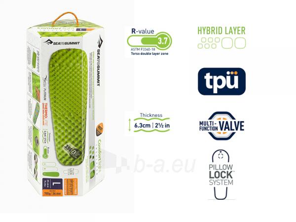 Pripučiamas kilimėlis Comfort Light Insulated Mat Large Paveikslėlis 5 iš 5 310820229056