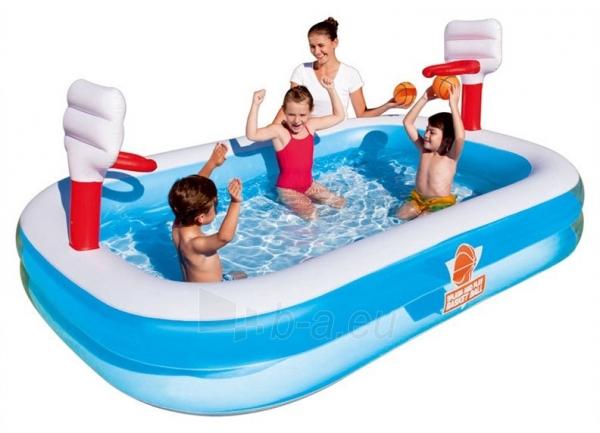 Pripučiamasis vaikiškas baseinas su krepšiu Bestway, 254 x 168 x 102 cm Paveikslėlis 1 iš 1 310820221614