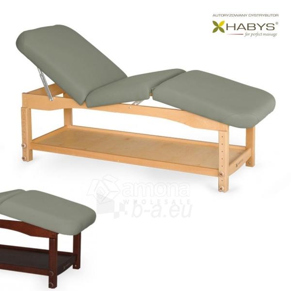 Procedūrinė lova HABYS Nova Komfort ST Gray Paveikslėlis 1 iš 1 310820200036