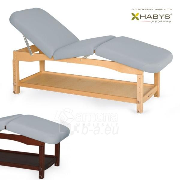 Procedūrinė lova HABYS Nova Komfort VF Gray Paveikslėlis 1 iš 1 310820200051