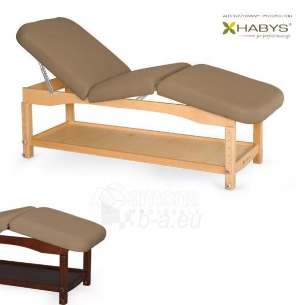 Procedūrinė lova HABYS Nova Komfort VF Light Brown Paveikslėlis 1 iš 1 310820200042