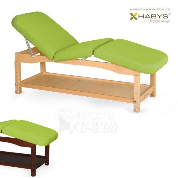 Procedūrinė lova HABYS Nova Komfort VF Lime Paveikslėlis 1 iš 1 310820200005