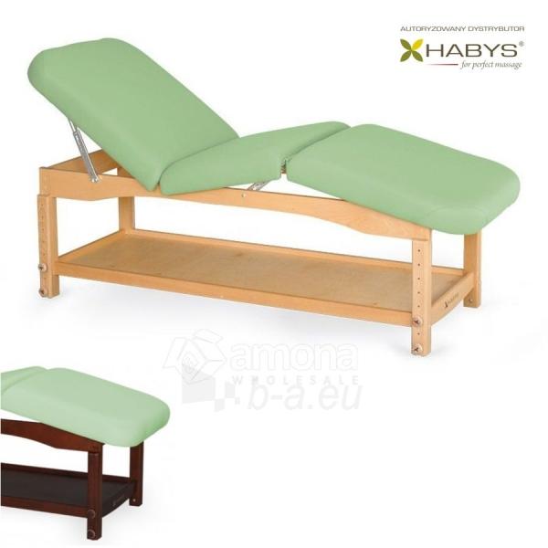 Procedūrinė lova HABYS Nova Komfort VF Pistachio Paveikslėlis 1 iš 1 310820200054