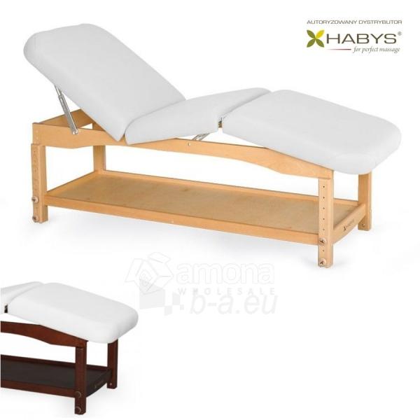 Procedūrinė lova HABYS Nova Komfort VF White Paveikslėlis 1 iš 1 310820200063