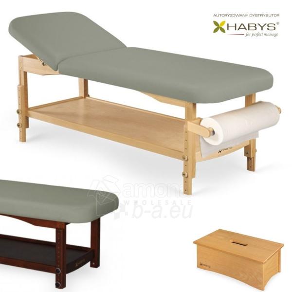 Procedūrinė lova HABYS Nova ST Gray Paveikslėlis 1 iš 1 310820200035
