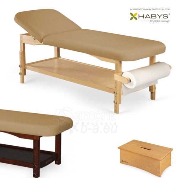 Procedūrinė lova HABYS Nova ST Light Brown Paveikslėlis 1 iš 1 310820200059