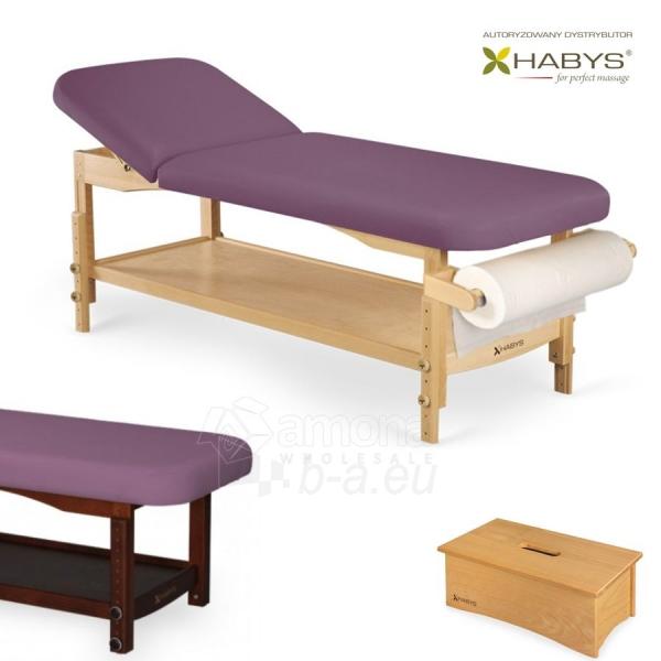 Procedūrinė lova HABYS Nova ST Purple Paveikslėlis 1 iš 1 310820200066