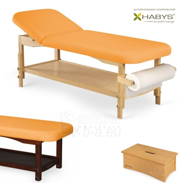 Procedūrinė lova HABYS Nova ST Yellow Paveikslėlis 1 iš 1 310820200065