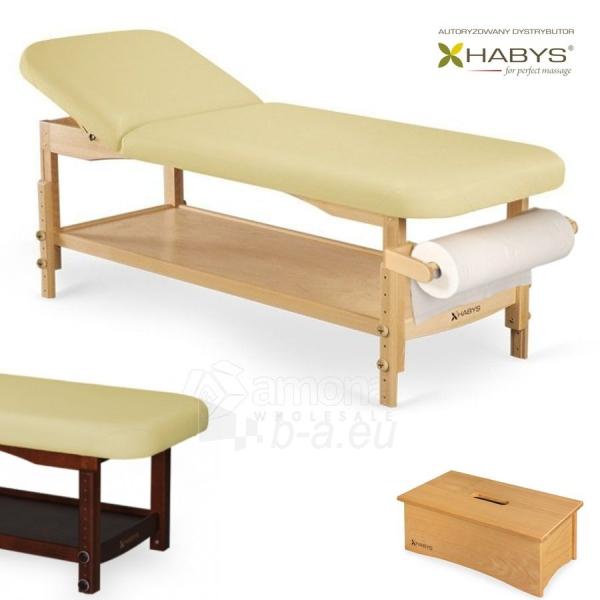 Procedūrinė lova HABYS Nova VF Gold Sand Paveikslėlis 1 iš 1 310820200053