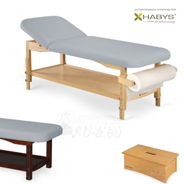 Procedūrinė lova HABYS Nova VF Gray Paveikslėlis 1 iš 1 310820200044