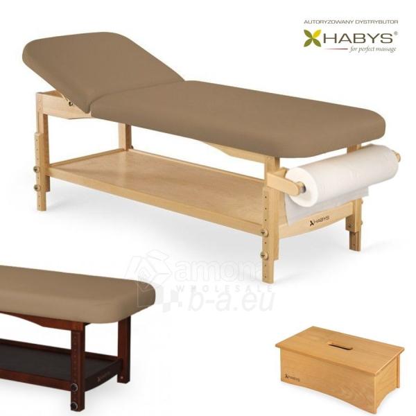 Procedūrinė lova HABYS Nova VF Light Brown Paveikslėlis 1 iš 1 310820200032